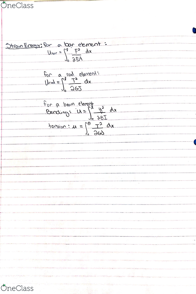 ME 3614 Lecture 7: Beam Bending Example and Beam Deflection - OneClass