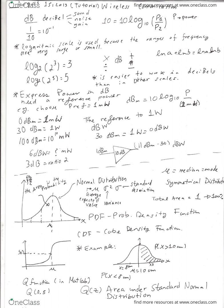 Wireless Communication Tutorials 1,2,3 pdf
