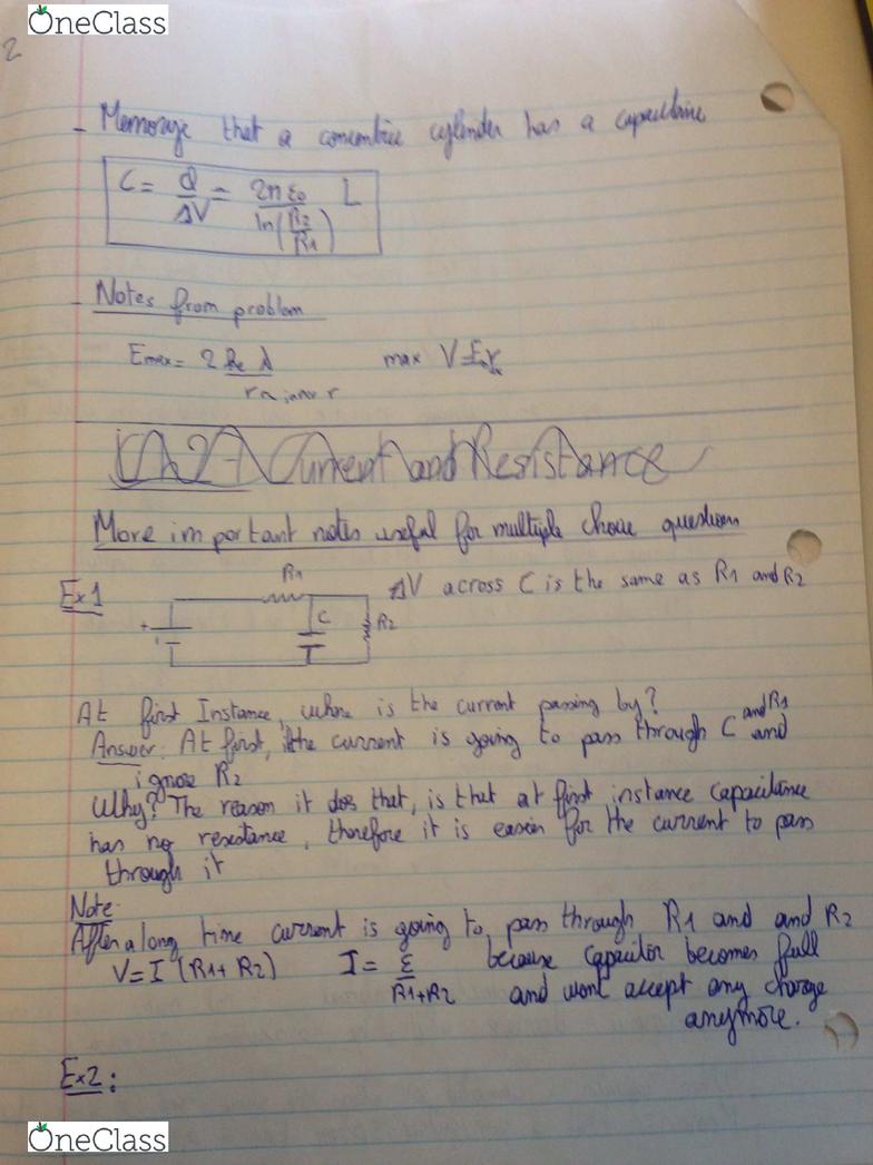 PHYSICS 1E03 Midterm: Physics 1E03 MIDTERM 2 study sheet