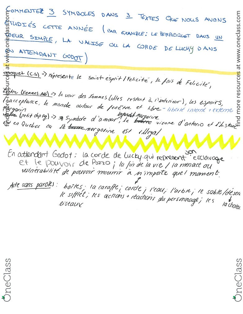 French 2600E Final: Final+exam+review+file pdf - OneClass
