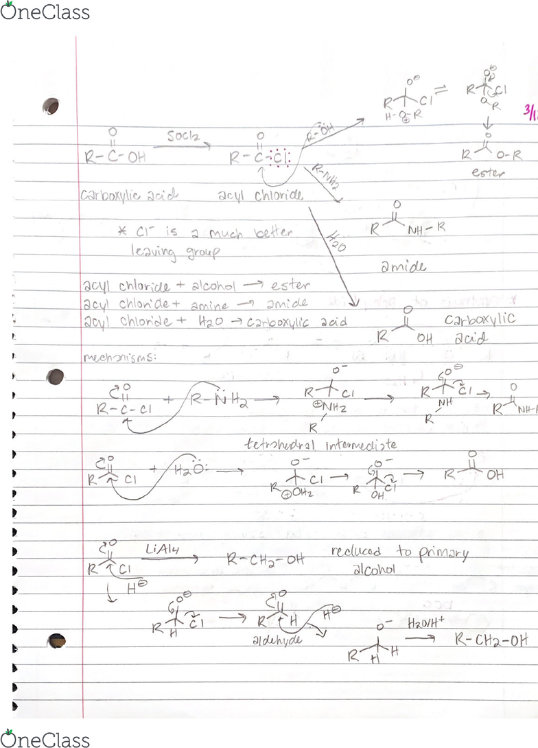 CHM 252 Lecture Notes - Spring 2019, Lecture 17 - Organometallic