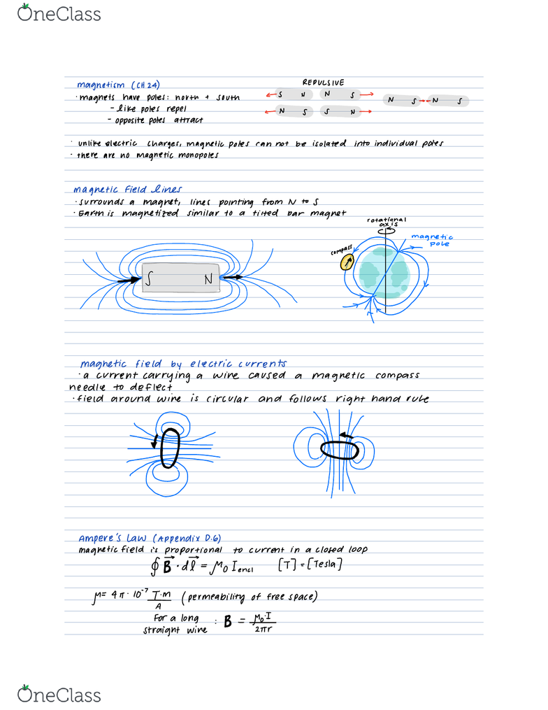 PHYSICS 5C Lecture Notes - Spring 2018, Lecture 13 - Compass