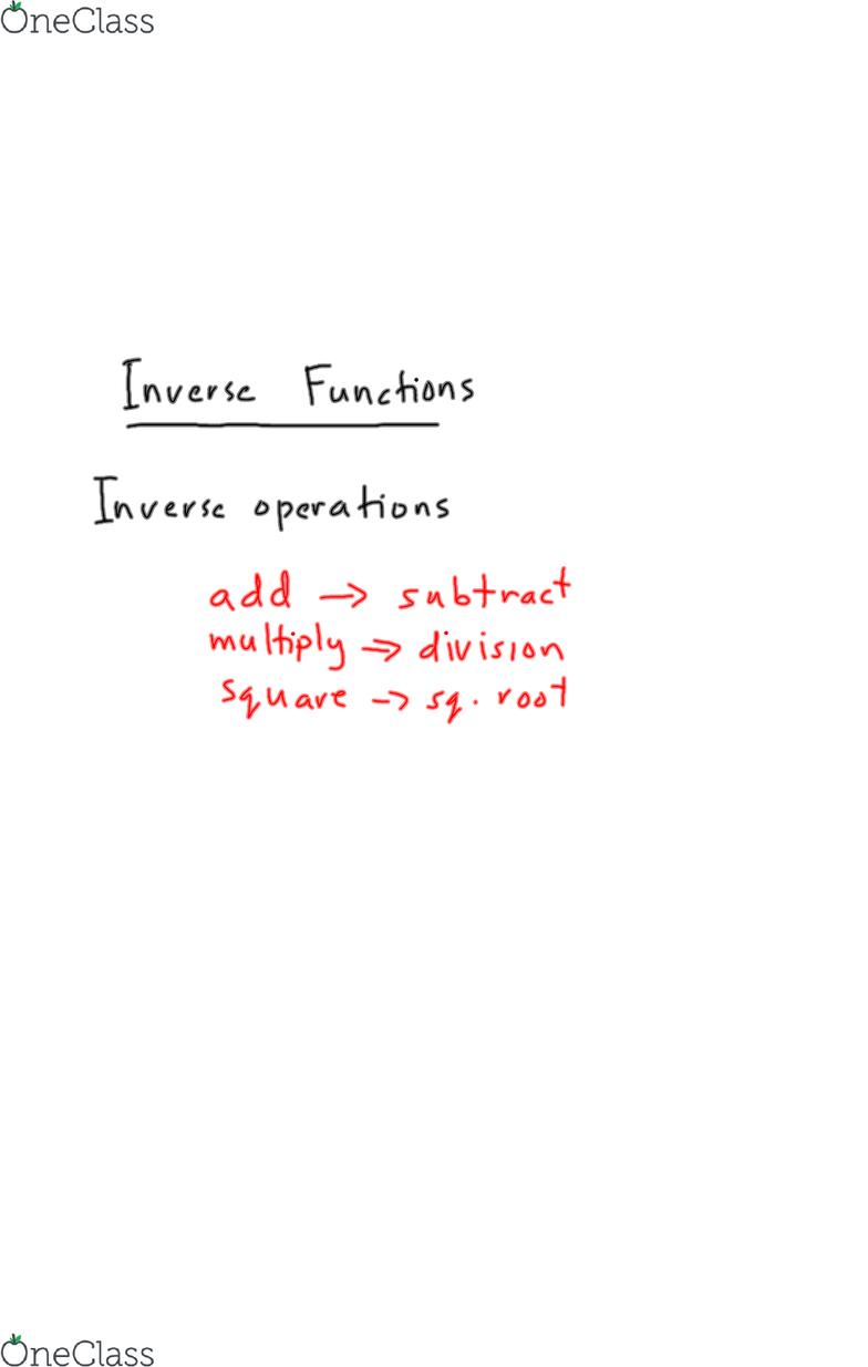 ECON 100 Lecture 3: MCR3U UNIT 1&2 L5 - OneClass