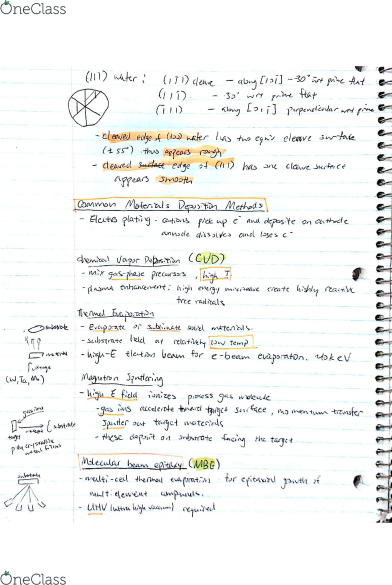 NE226 Lecture Notes - Spring 2014, Lecture 1 - Triclinic