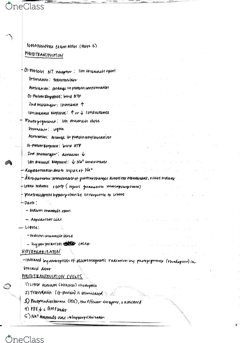 PSY-P 346 Lecture 3: P346 Exam 2 Notes 3