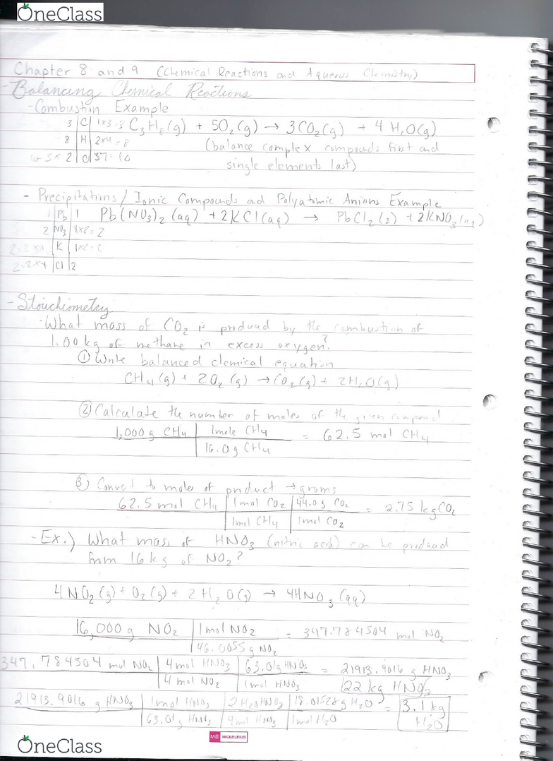 CHEM 135 Lecture 7: CHEM135 Lecture 7