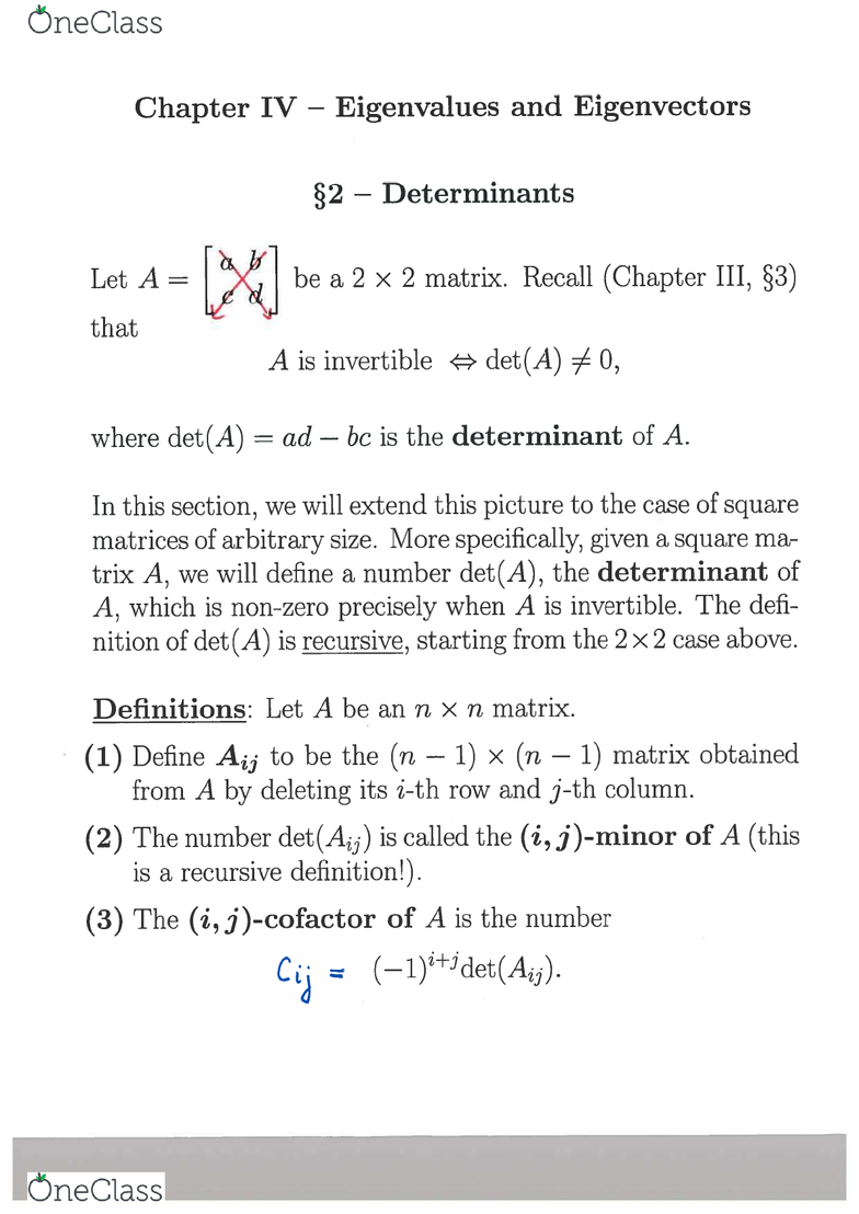 MATH 125 Lecture Notes - Fall 2016, Lecture 29 - Identity Function