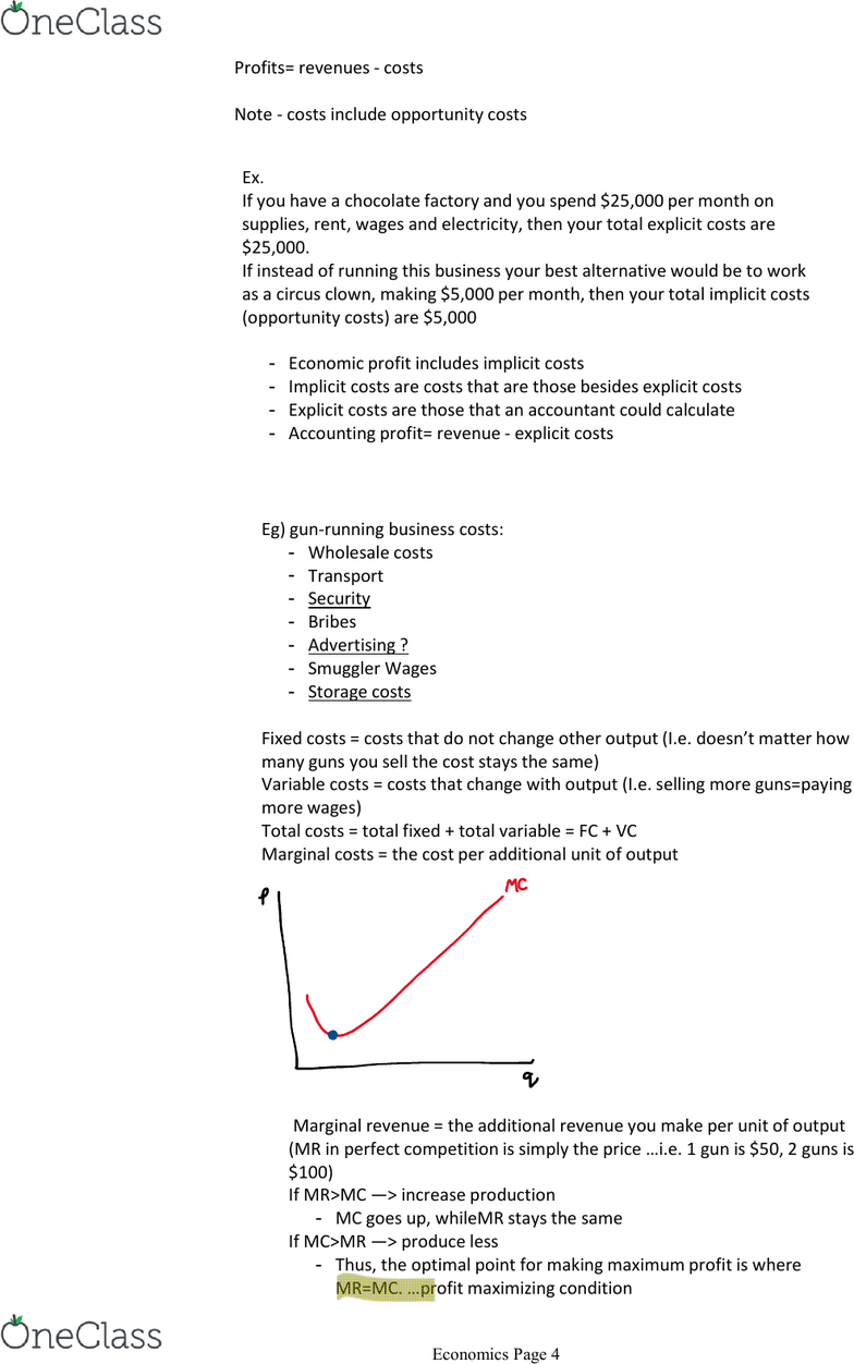 ECON 1P91 Lecture Notes - Fall 2017, Lecture 6 - Coase
