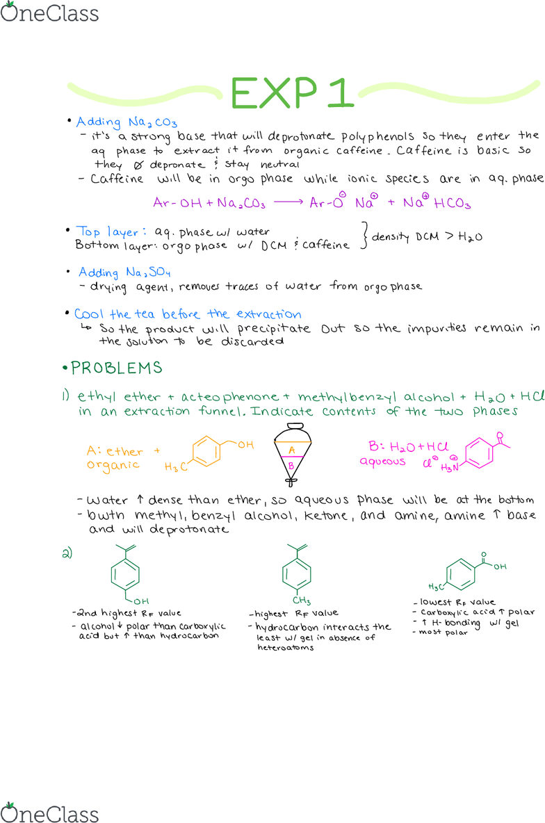 CHM 2123 Lecture Notes - Fall 2017, Lecture 1 - Glucoside, Side