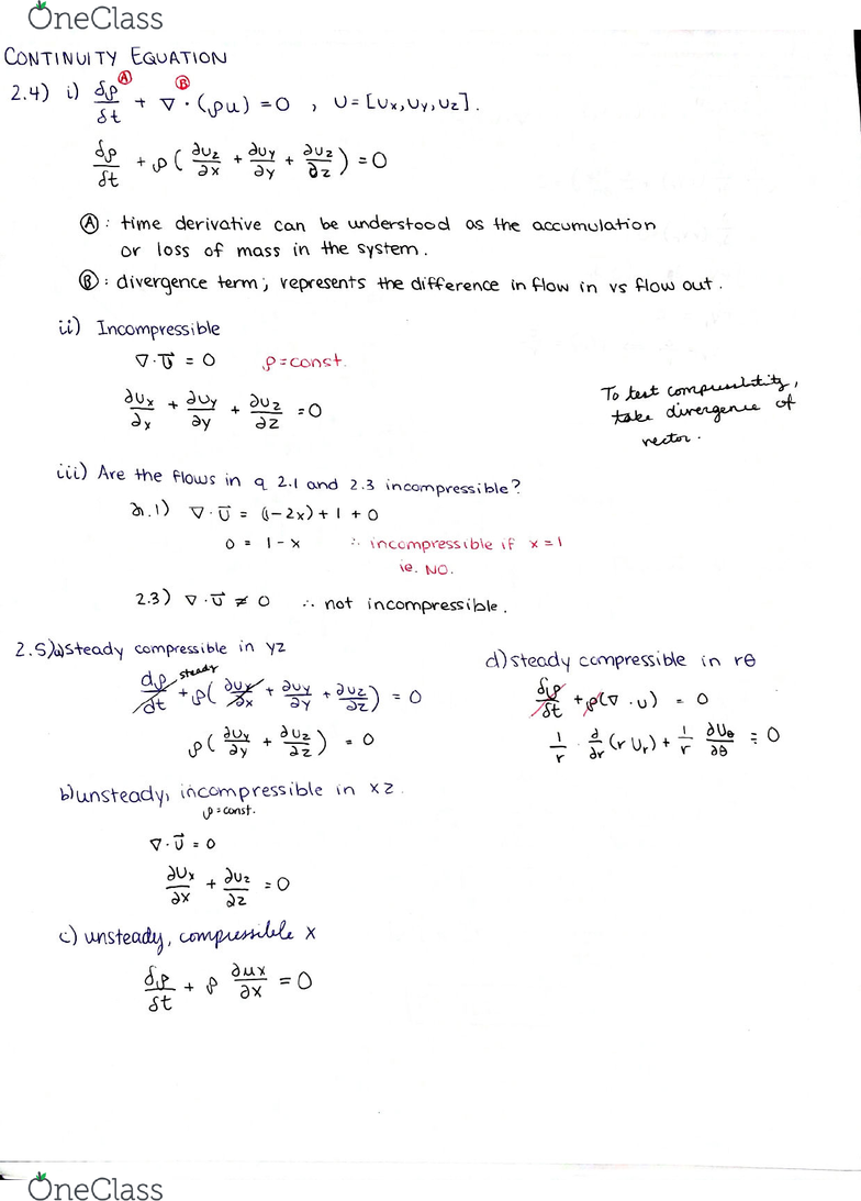 MCG 3143 Lecture 2: MCG 3143 DGD 2 Material derivative