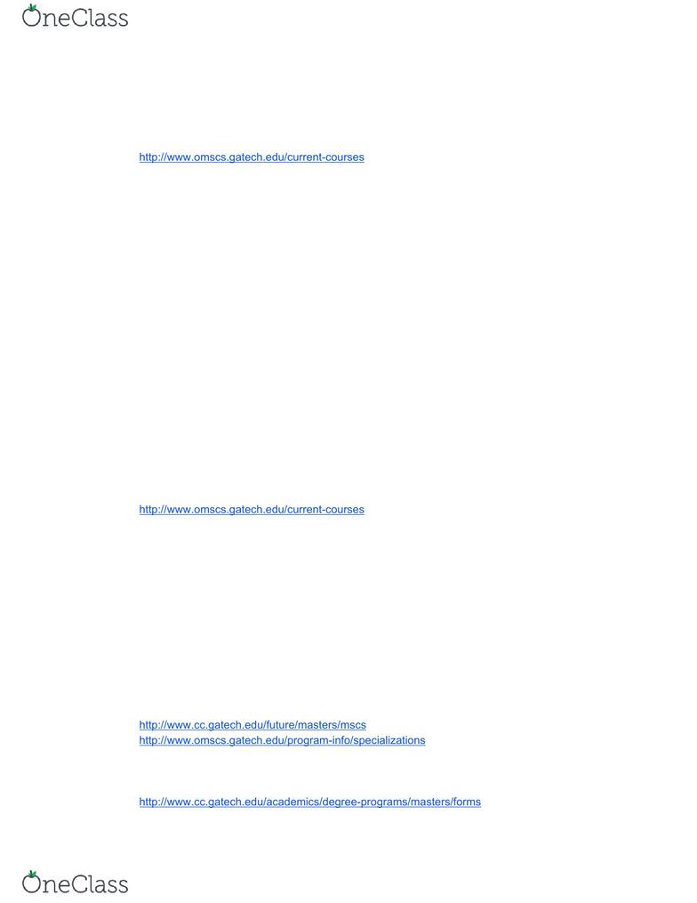 CS 1100- Midterm Exam Guide - Comprehensive Notes for the
