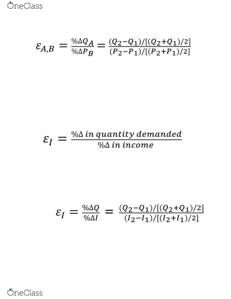 Eco 1104 Lecture Notes Fall 2018 Lecture 8 Economic Surplus