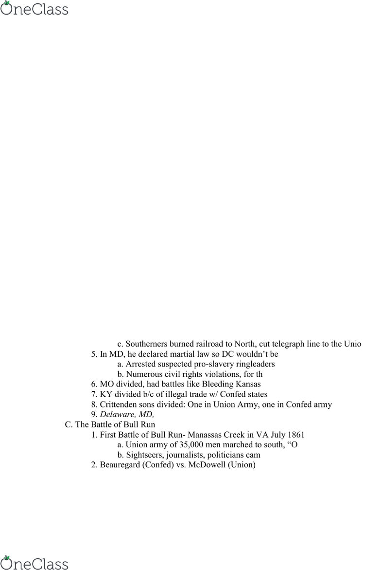 01:512:103 Lecture 8: Chapter 16 Outlines - OneClass