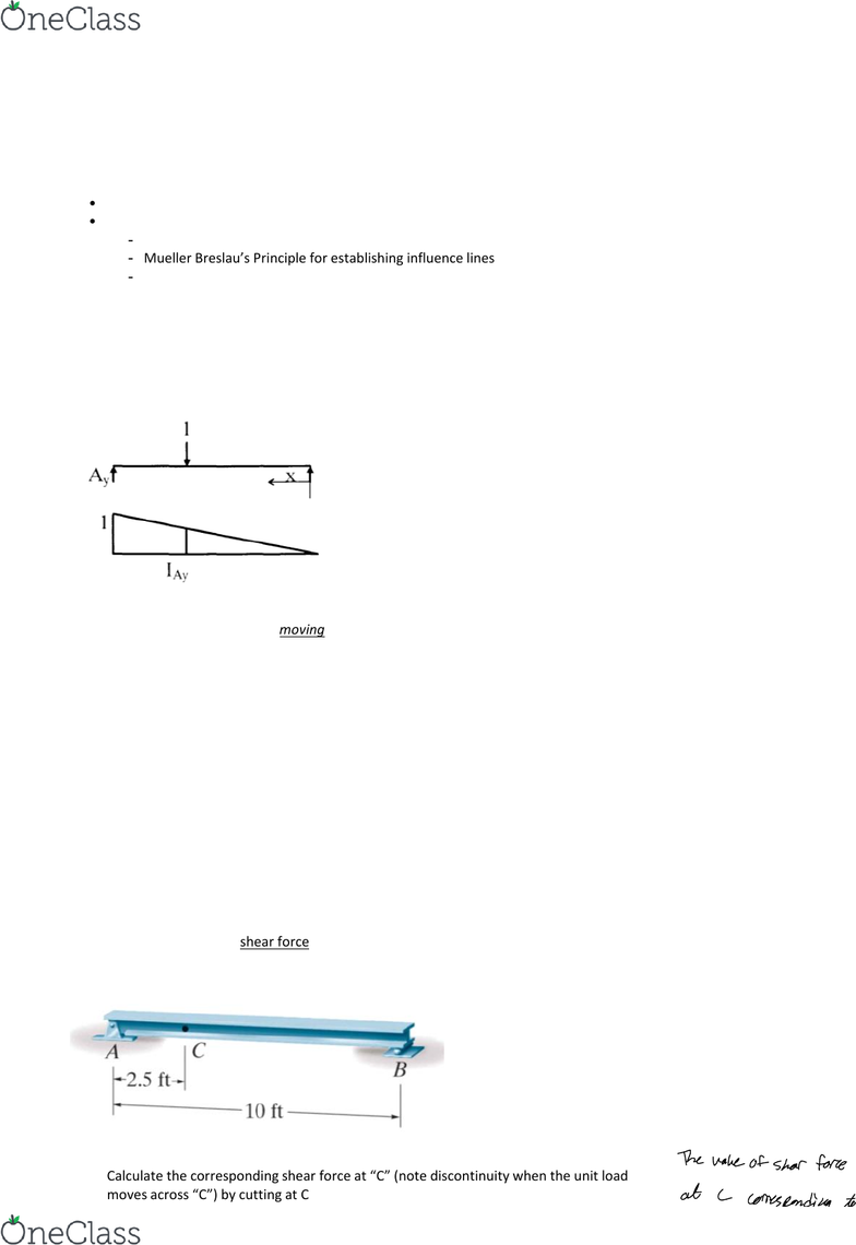 Civil And Environmental Engineering 2221ab Lecture Notes Winter