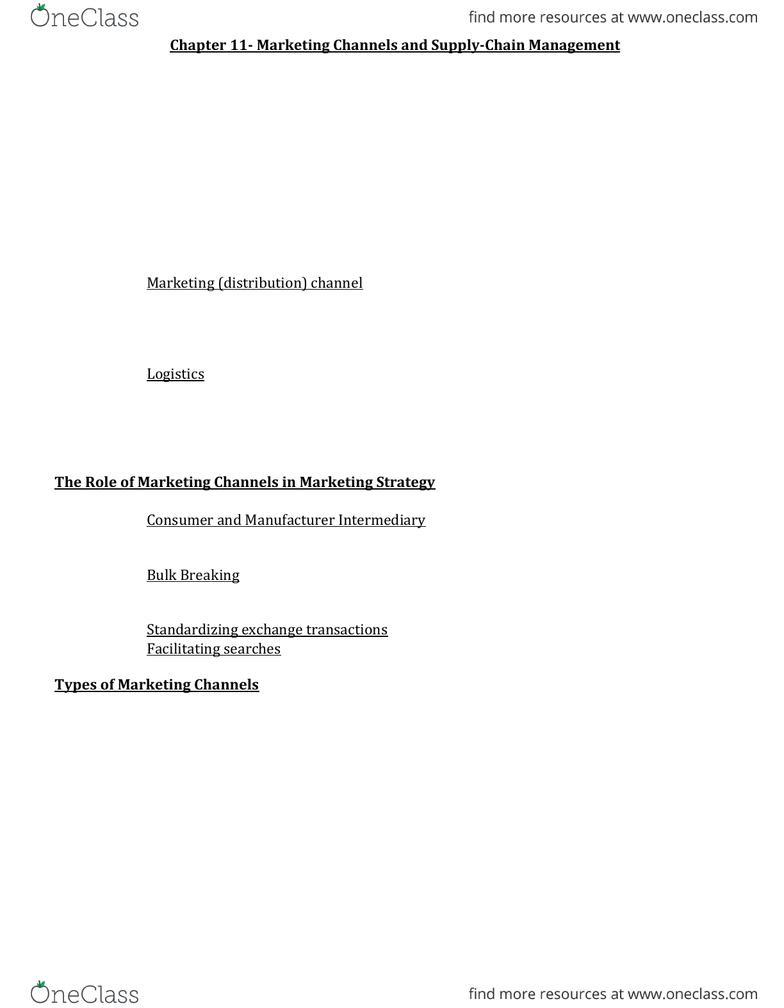 COMMERCE 2MA3 Study Guide - Fall 2013, - Data Analysis