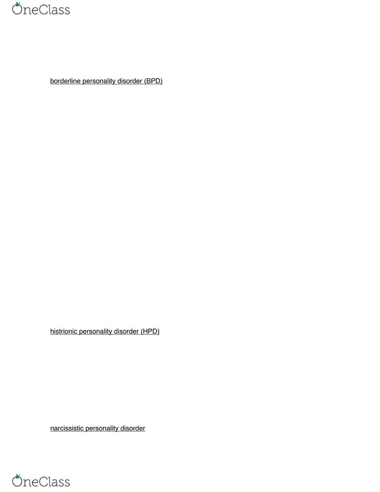 Psychology 2310A/B Textbook Notes - 2018, Chapter 12 - Dependent