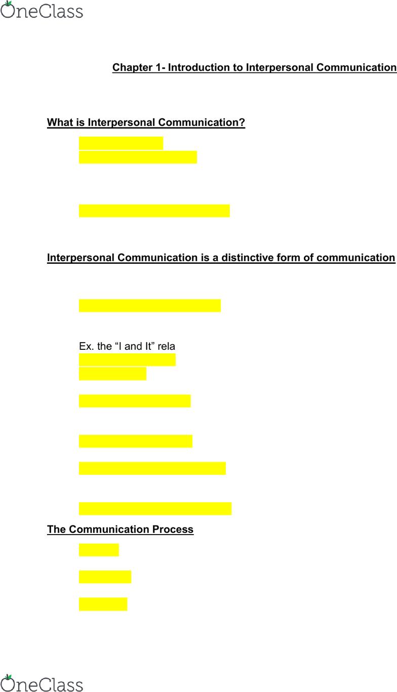 Communication theory social penetration theory