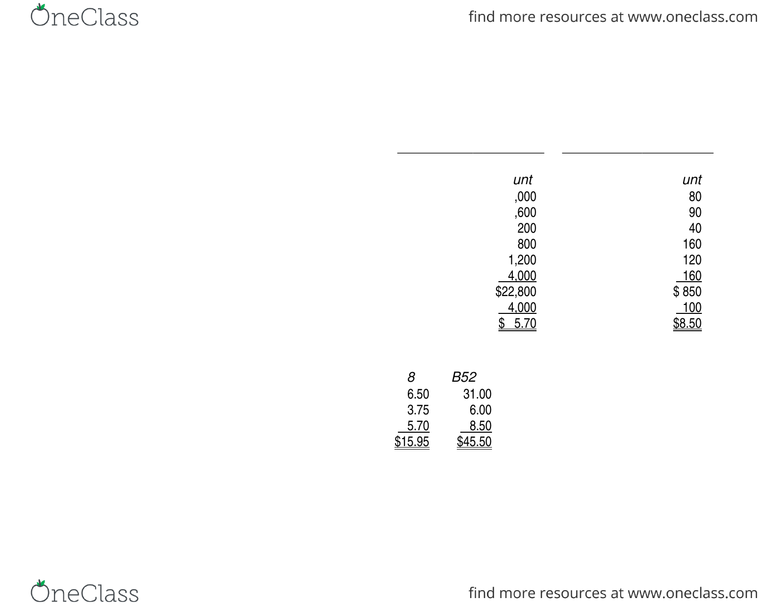 Chapter 3 Solutions doc - OneClass