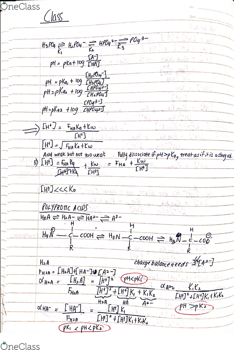 CHEM 316 Lecture 22: Analytical Chemistry Lecture Notes 22