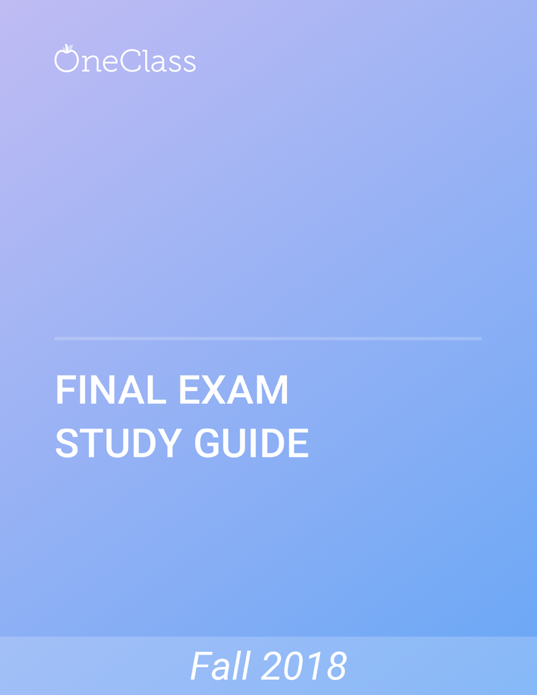 POL222H1 Study Guide - Comprehensive Final Exam Guide