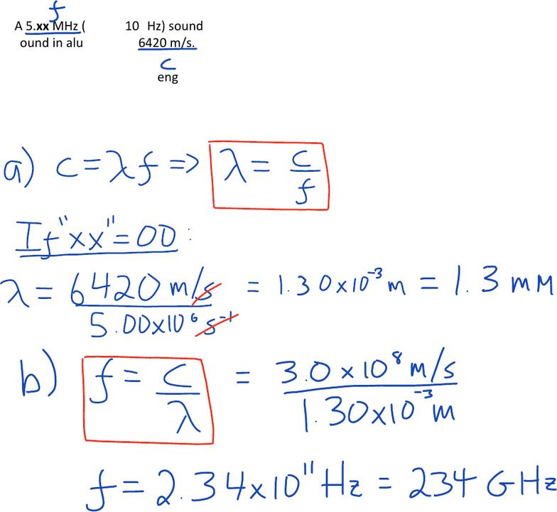 Sound Quiz Physics