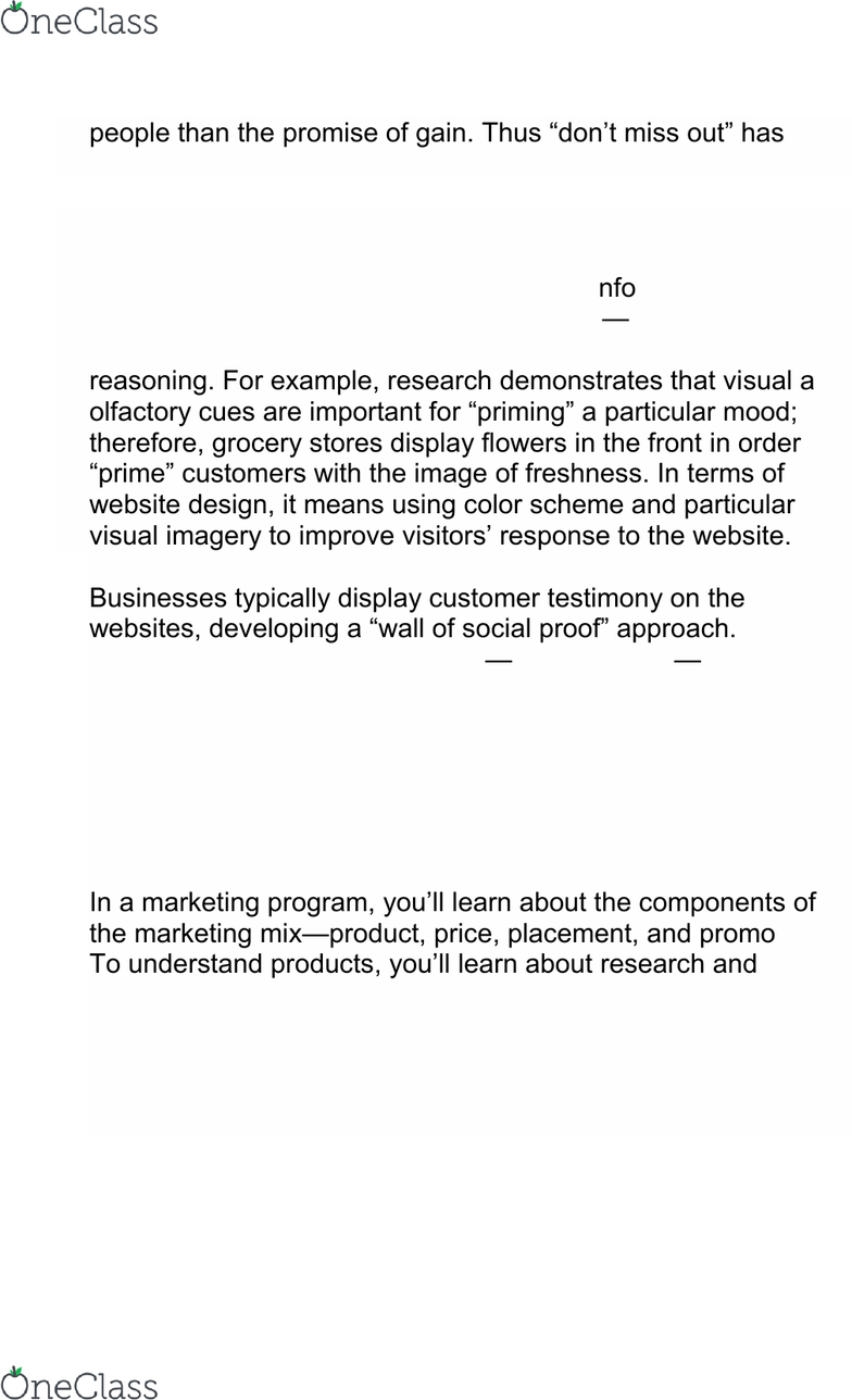 200086 Lecture Notes - Spring 2019, Lecture 23 - Copywriting