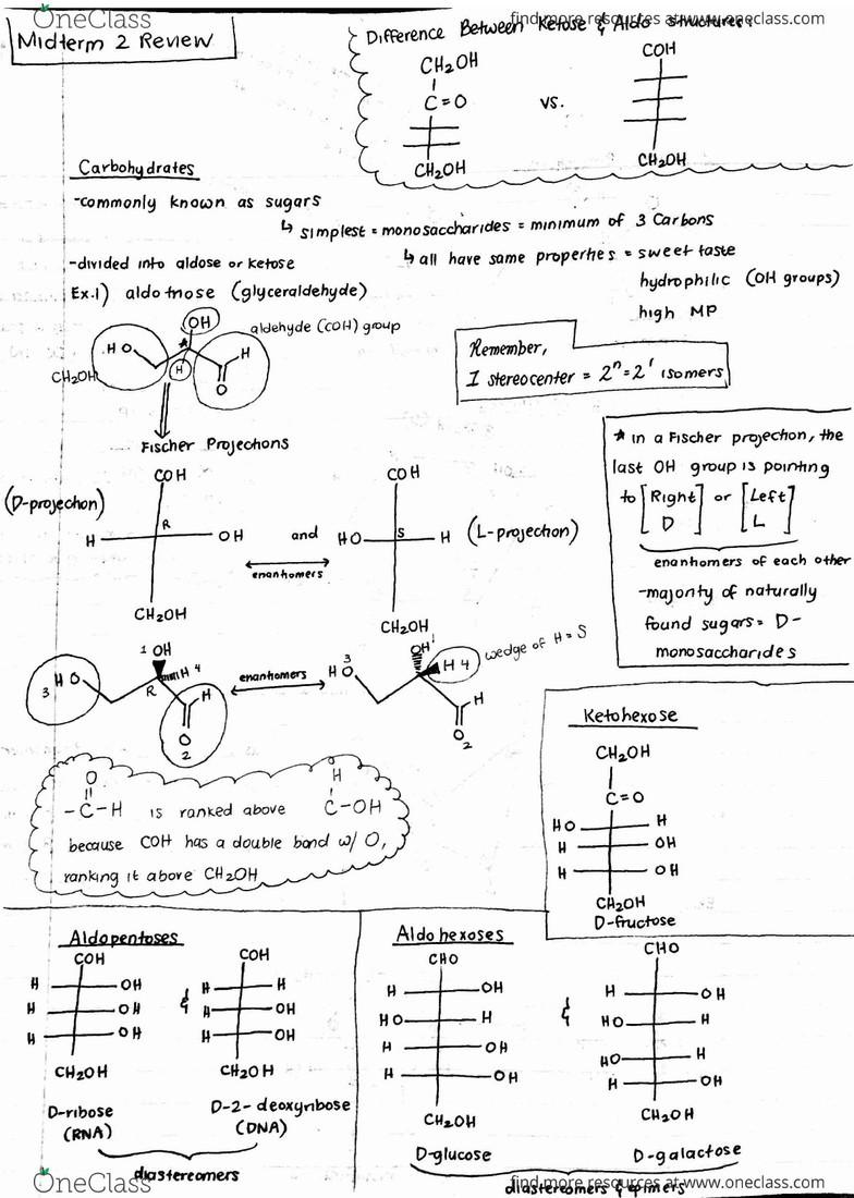CHEM 14C Midterm: Chem14C - Lecture 7 3 Notes - Midterm 2