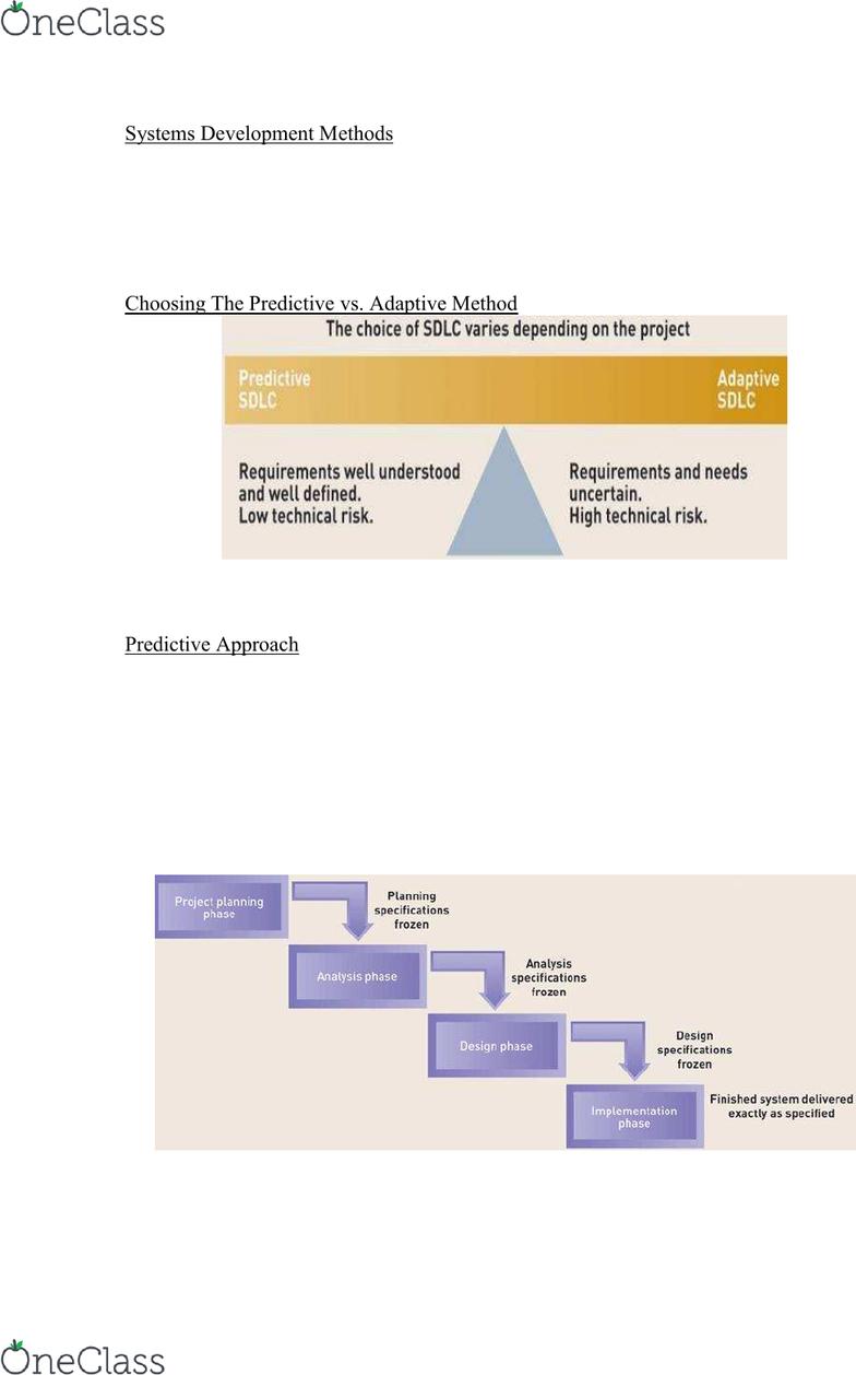 predictive vs adaptive sdlc