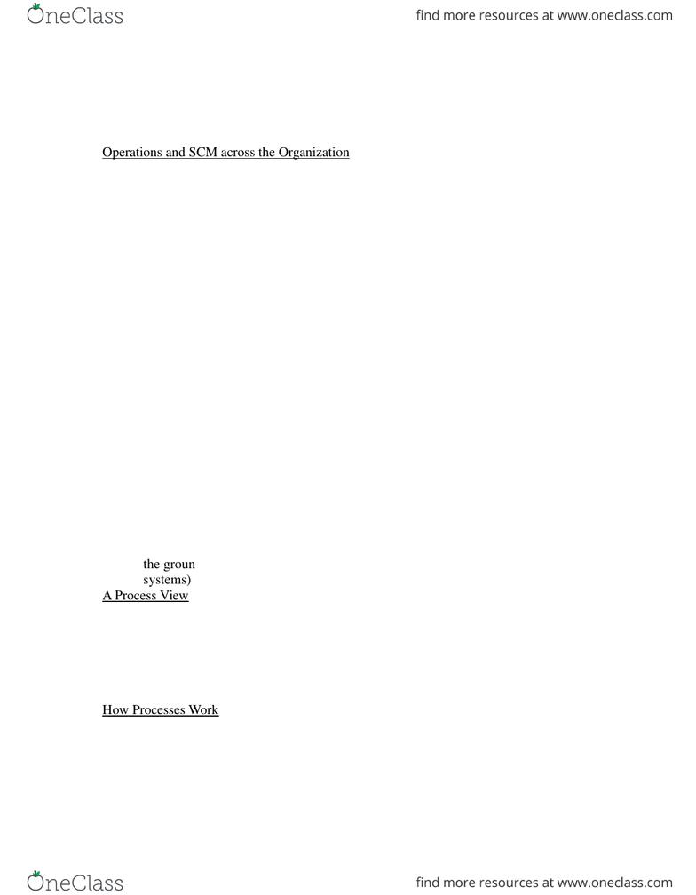 ITM 410 Study Guide - Winter 2015, Final - Flowchart