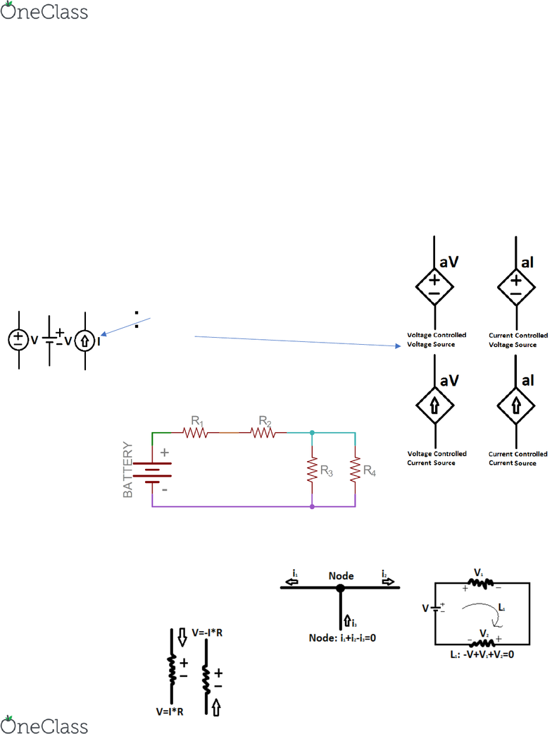 Nodal Analysis Find The Voltages In A Circuit