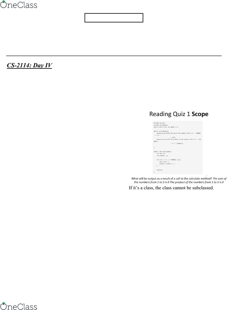 CS 2114 Lecture Notes - Lecture 3: Github, Version Control, Bmw I3