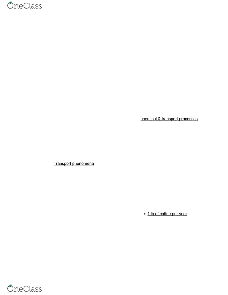 ech 1 lecture notes - lecture 1: francisco de melo, mass balance, process  flow diagram