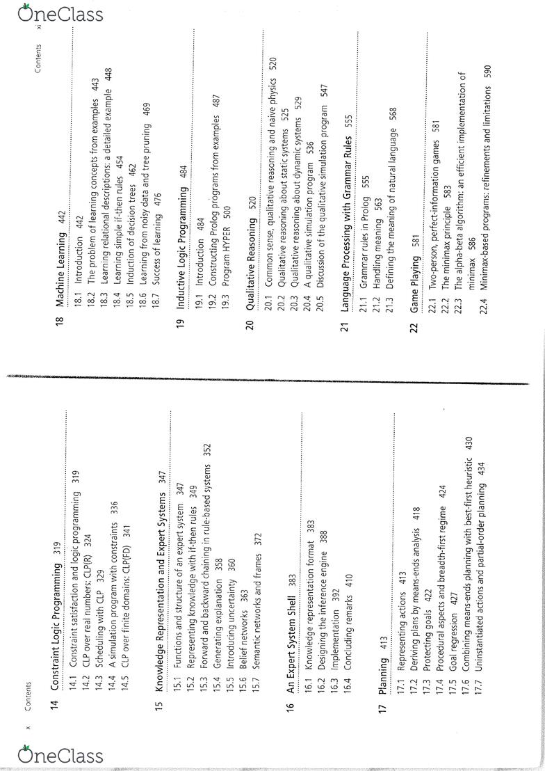 CISC260 Lecture 25: CISC260_Prolog - OneClass