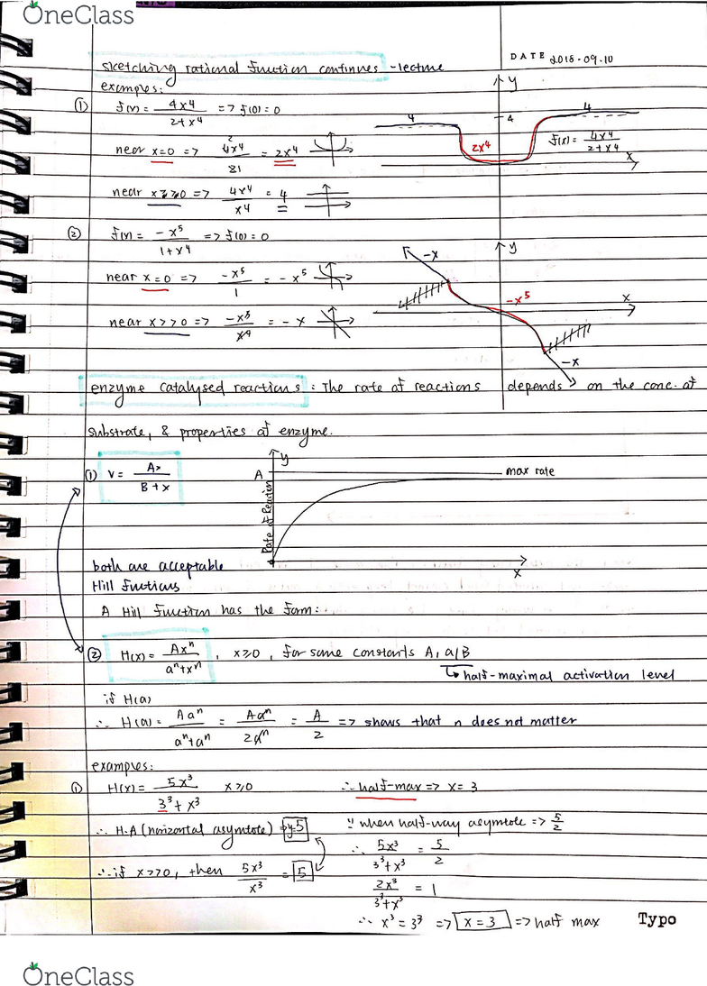 MATH 102 Lecture 3: Maths 102 notes Lecture 3: Approximations on rational  functions