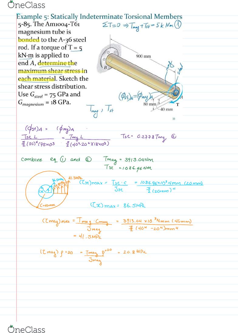 CIV E270 Lecture Notes - Fall 2017, Lecture 11 - A36 Steel