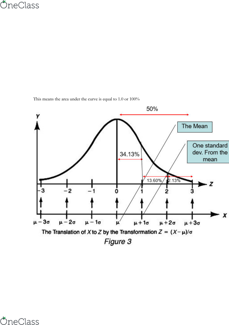 SOC222H5 Lecture Notes - Spring 2018, Lecture 3 - Percentile